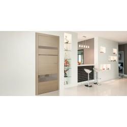 Двери в стиле Hi-Tech: особенности конструкции