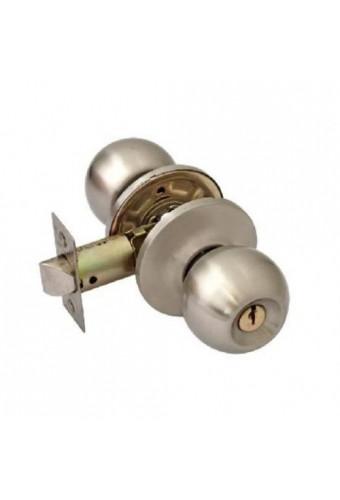 Нора ЗШ-Э-01, мат.никель, ключ
