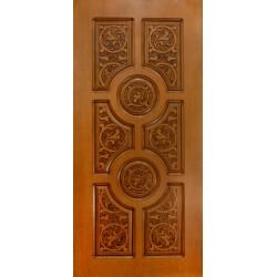 МДФ панели для отделки входных дверей: преимущества материала