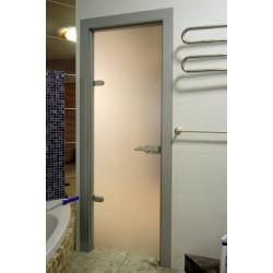 Стеклянные двери для ванных комнат: существующие варианты