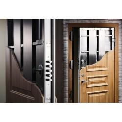 Чем входные бронированные двери отличаются от обычных стальных дверей