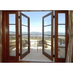 Балконные двери по типу межкомнатных: материалы и конструкции