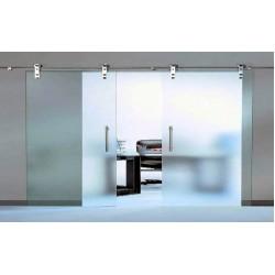 Правильная установка стеклянных раздвижных дверей