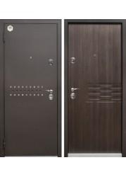 Бульдорс 13, черный шелк/МДФ ларче темный