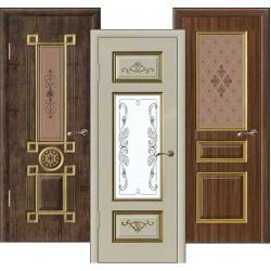 Типы межкомнатных дверей по материалу изготовления и отделочному покрытию