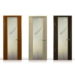 Стеклянные вставки в межкомнатных дверях: положительный или отрицательный момент?