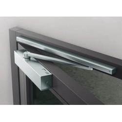 Существующие типы накладных доводчиков для дверей