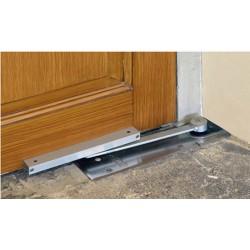 Напольные доводчики для дверей: устройство и область применения
