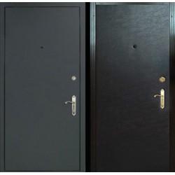 Виды обработки наружной поверхности входных металлических дверей: нитроэмаль и порошковое напыление