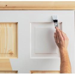 Окрашивание деревянных дверей: выполняем подготовительные работы