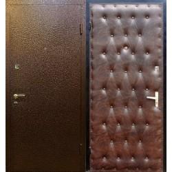 Виды обработки наружной поверхности входных металлических дверей: молотковая краска