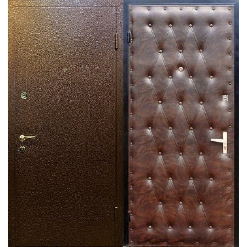 металлические порошковые двери с шумоизоляцией