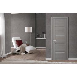 Почему выбирают серые межкомнатные двери