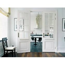 Белые двери в интерьере. Сочетание со стенами