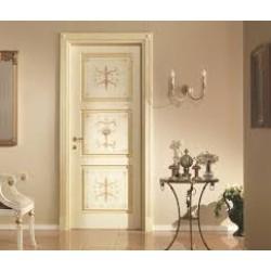 Виды декорирования межкомнатных дверей