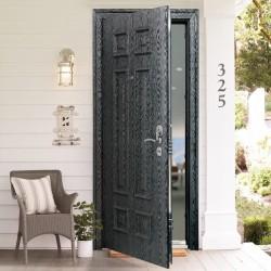 Виды входных дверей по типу материала