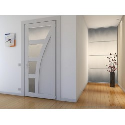 Особенности межкомнатных ПВХ дверей