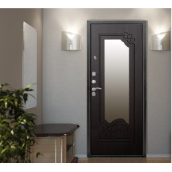 Чем хороша дверь с зеркалом в интерьере
