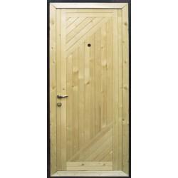 Обшивка входных дверей: виды используемых материалов