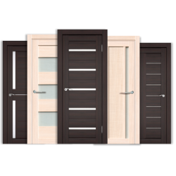 Существующие разновидности дверей относительно типа материала, используемого при их производстве